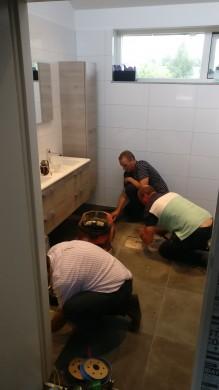 Genieten en reparatie badkamer