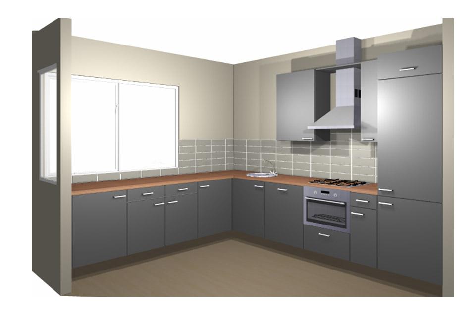 Tegeltjes keuken achterwand - Keuken tegel metro ...